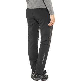 GORE WEAR H5 Windstopper Pantalones Híbridos Mujer, black/terra grey